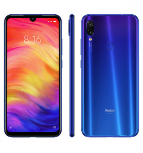Xiaomi Redmi Note 7 4/64gb Blue Global Version